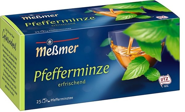 Messmer Tee Pfefferminze 25 Btl.