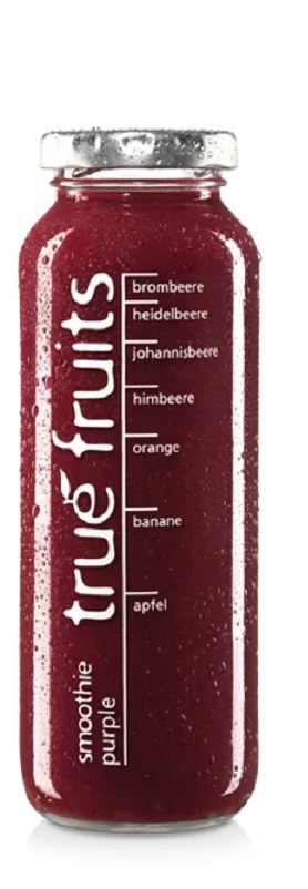 True Fruits Smoothie Purple 8 x 250 ml